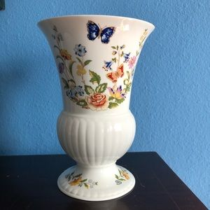 Aynsley Cottage Garden Bone China Vase